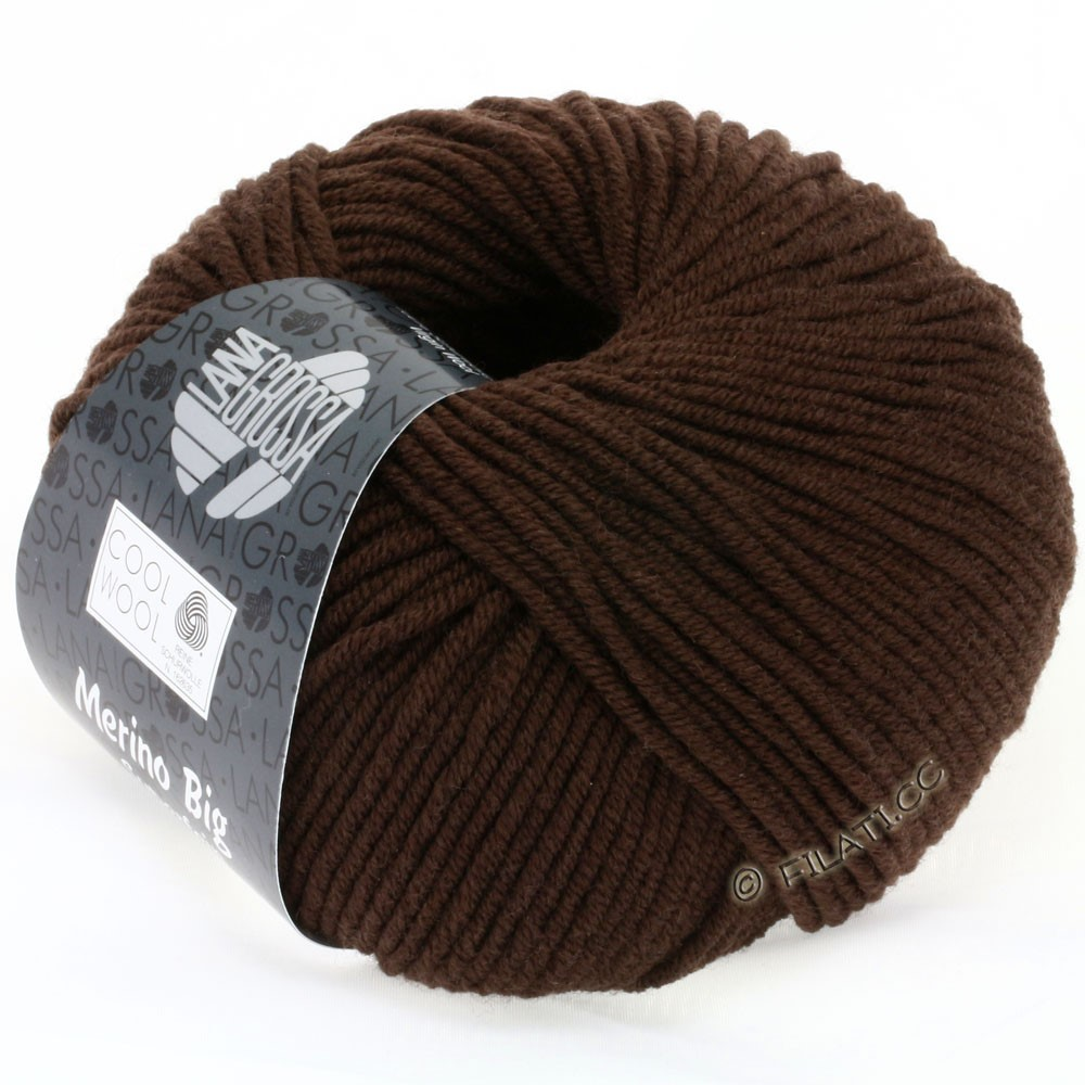 Lana Grossa COOL WOOL big uni/melange | 644-mocha
