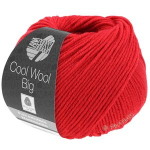 Lana Grossa COOL WOOL Big  Uni/Melange | 0648-carmine red