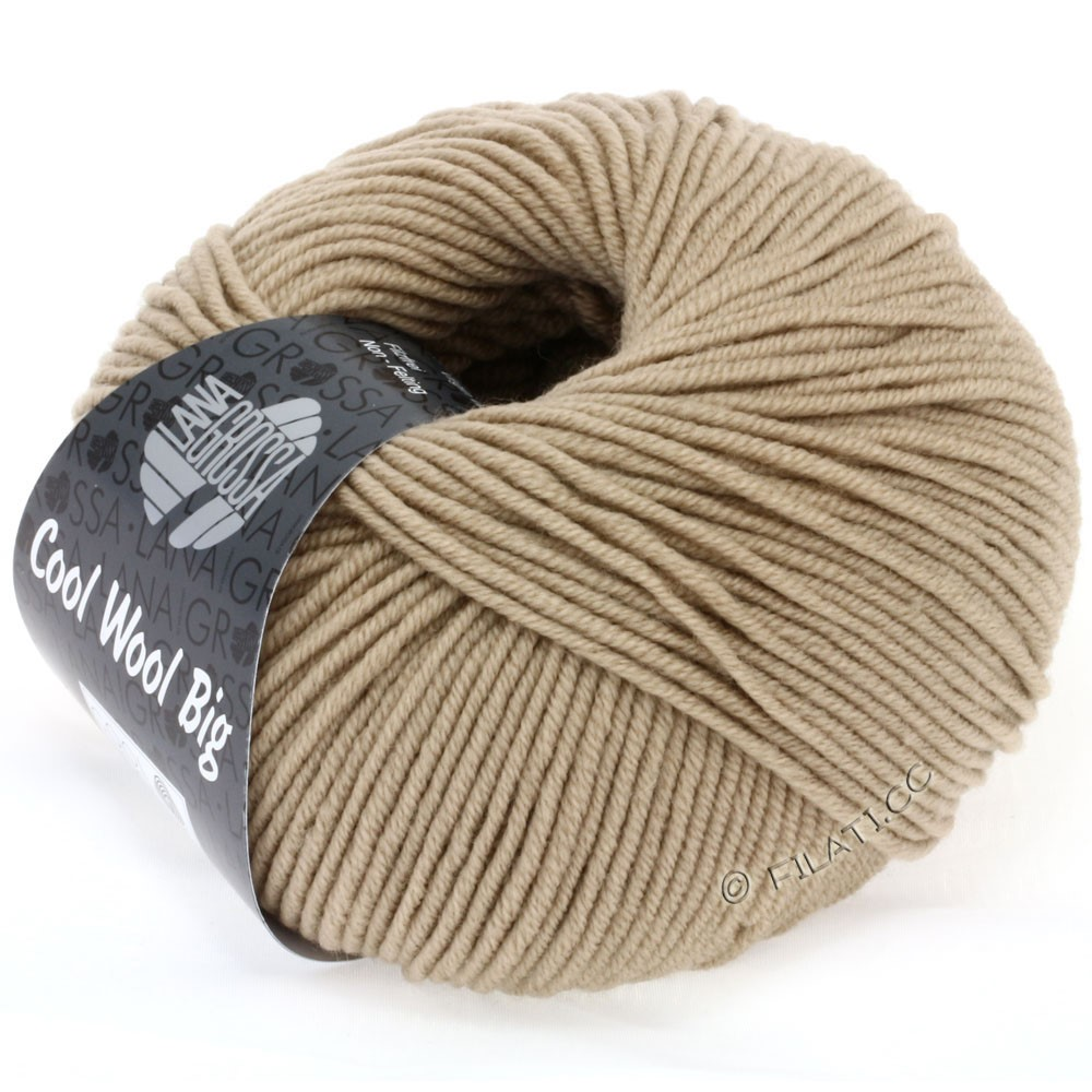 Lana Grossa COOL WOOL big uni/melange | 685-sand