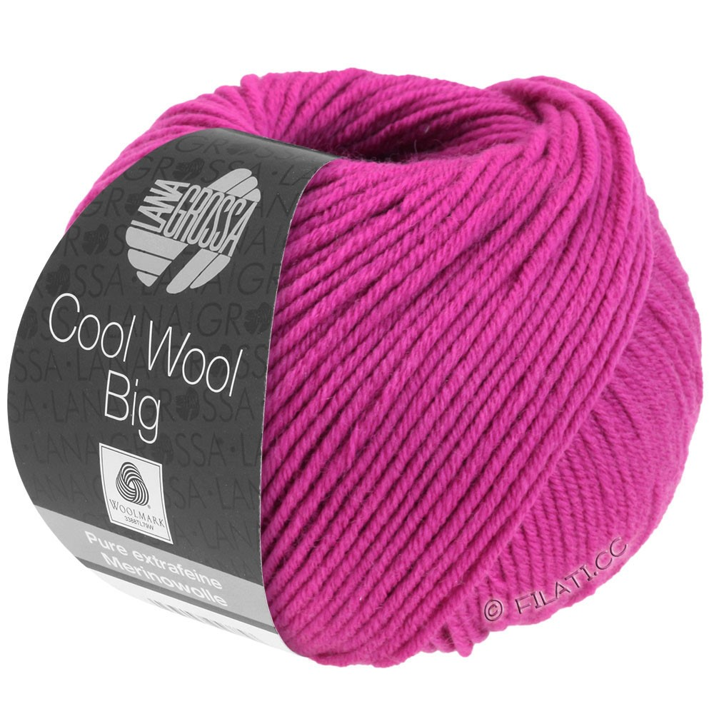 Lana Grossa COOL WOOL big uni/melange | 690-cyclamen