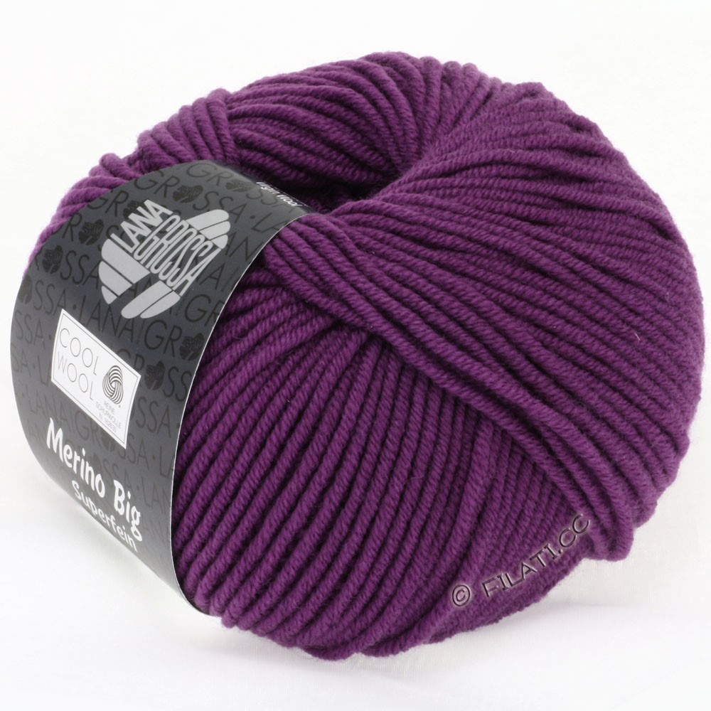 Lana Grossa COOL WOOL big uni/melange | 695-violet