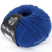 Lana Grossa COOL WOOL big uni/melange | 902-cyan