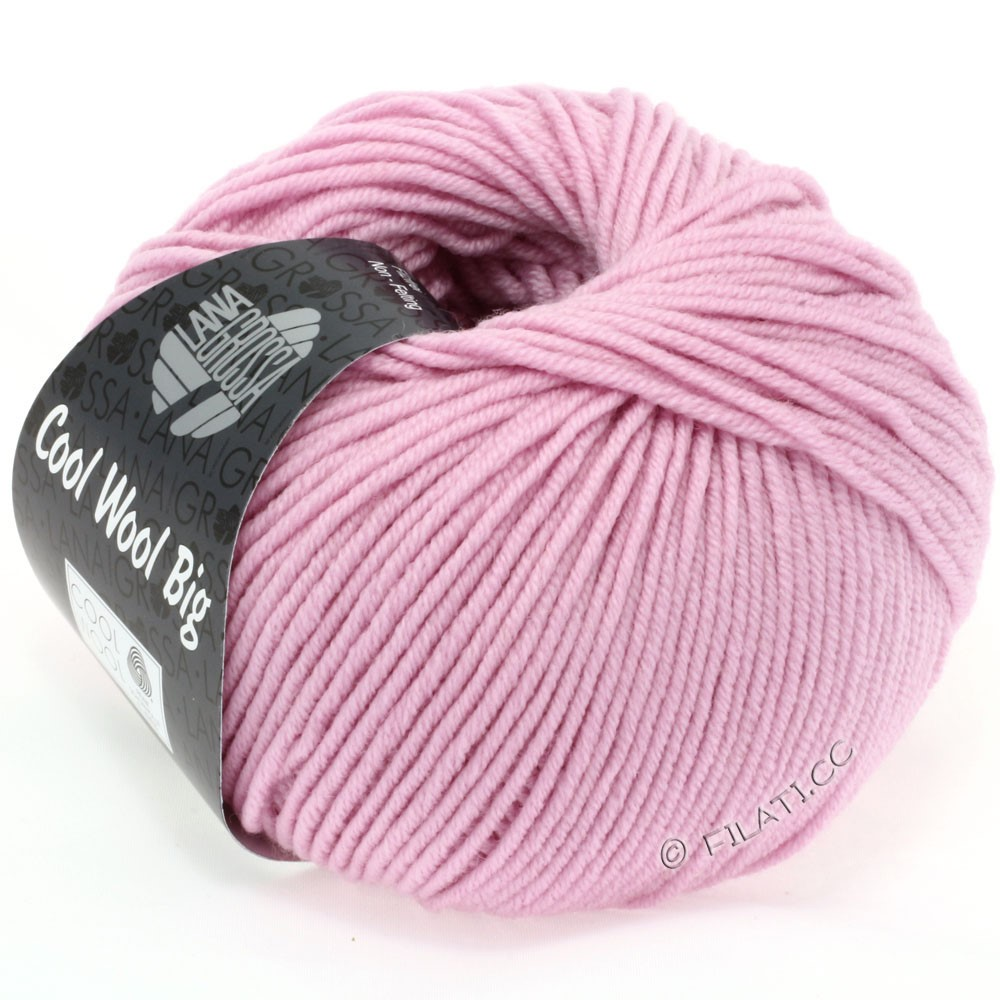 Lana Grossa COOL WOOL big uni/melange | 915-light lilac