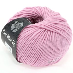Lana Grossa COOL WOOL Big  Uni/Melange | 0915-carnation