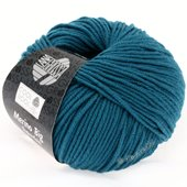 Lana Grossa COOL WOOL big uni/melange | 919-dark turquoise blue