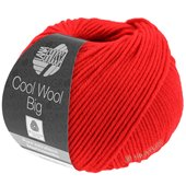 Lana Grossa COOL WOOL big uni/melange | 923-bright red