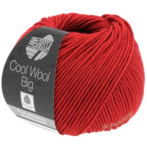 Lana Grossa COOL WOOL Big  Uni/Melange | 0924-dark red