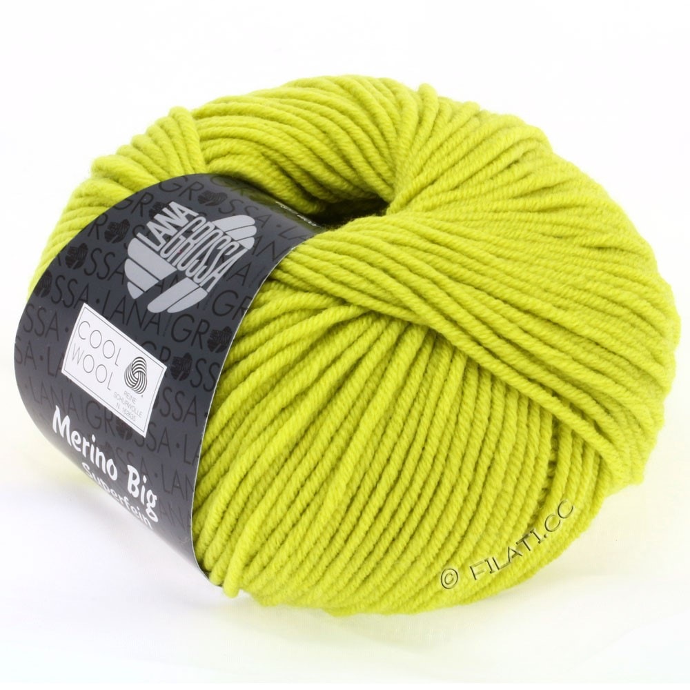 Lana Grossa COOL WOOL big uni/melange | 927-pistachio