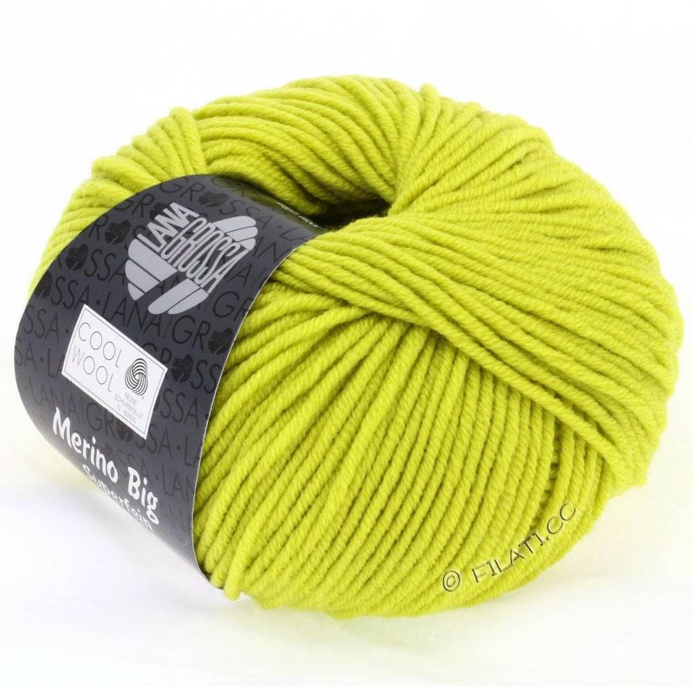 Lana Grossa COOL WOOL big uni/melange/print | 0927-pistachio