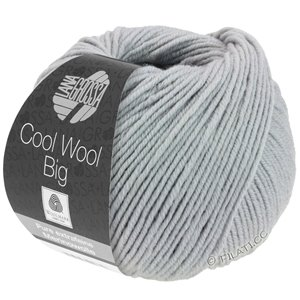 Lana Grossa COOL WOOL Big  Uni/Melange | 0928-medium gray
