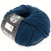 Lana Grossa COOL WOOL big uni/melange | 931-petrol blue