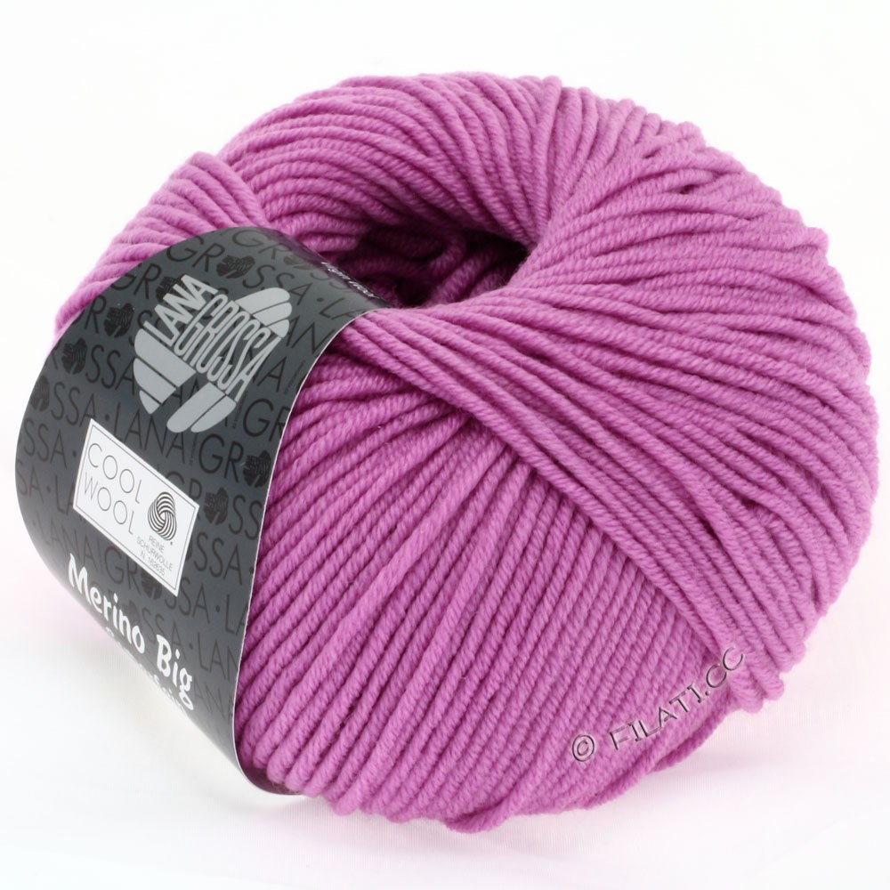 Lana Grossa COOL WOOL big uni/melange | 933-pink