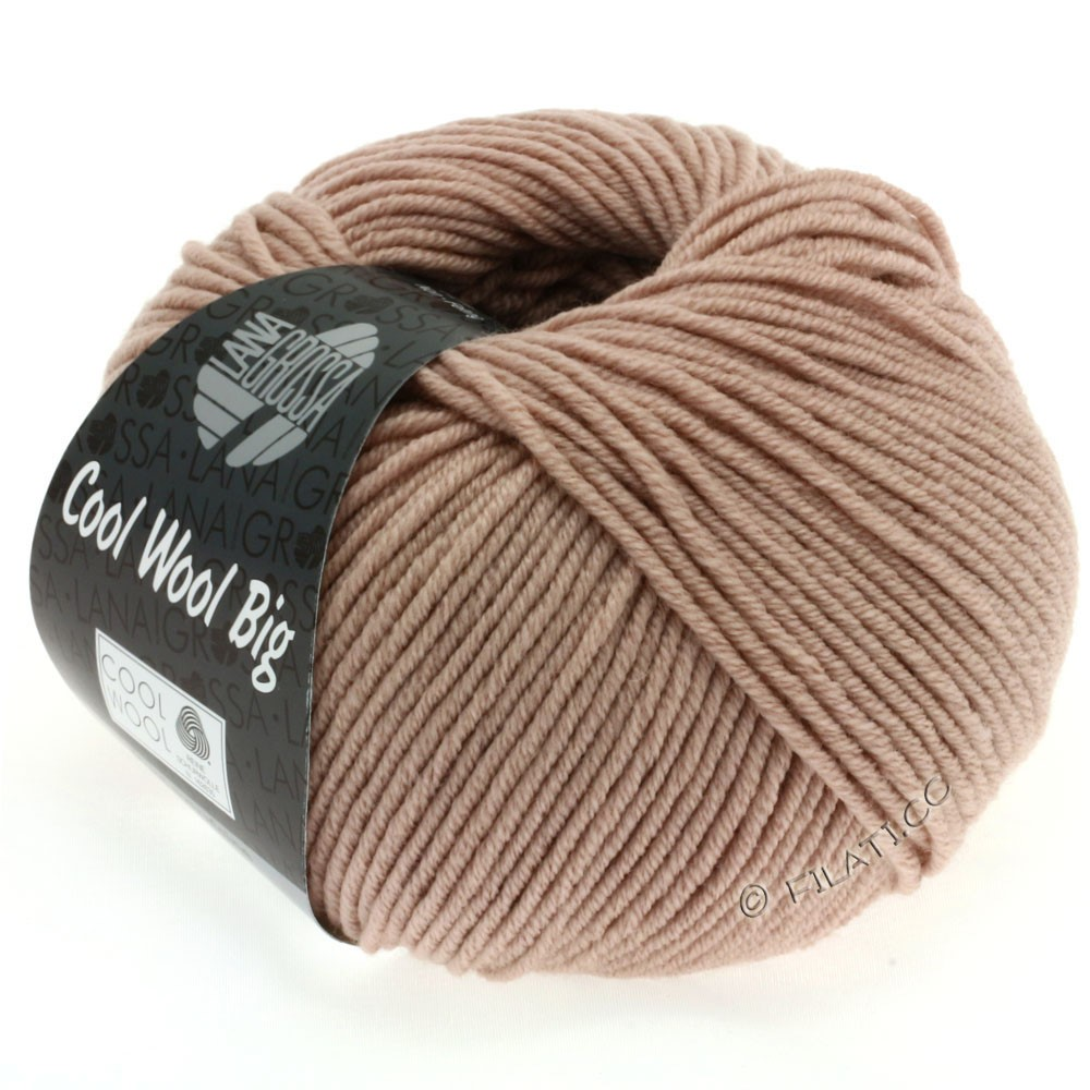 Lana Grossa COOL WOOL big uni/melange | 936-light rosewood