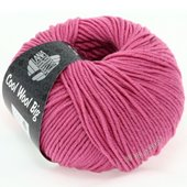 Lana Grossa COOL WOOL big uni/melange | 937-strong pink