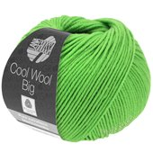 Lana Grossa COOL WOOL big uni/melange | 941-frog green