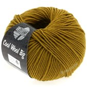 Lana Grossa COOL WOOL big uni/melange | 942-mustard