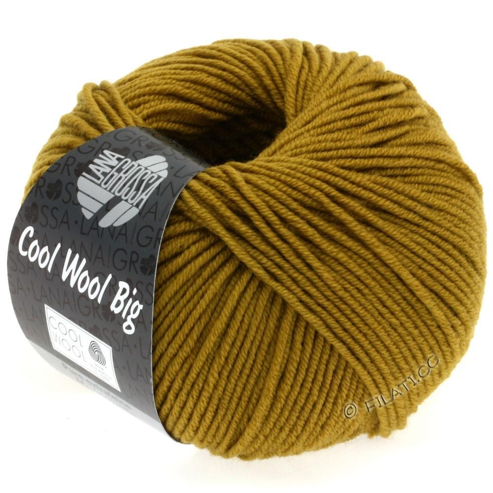 Lana Grossa COOL WOOL Big Uni/Melange/Print | 0942-mustard