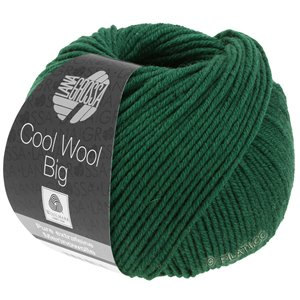 Lana Grossa COOL WOOL Big  Uni/Melange | 0949-bottle green