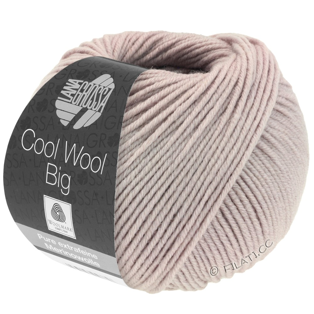 Lana Grossa COOL WOOL Big  Uni/Melange/Print | 0953-tulipwood