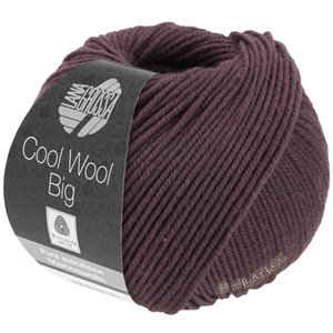 Lana Grossa COOL WOOL Big  Uni/Melange | 0964-chestnut