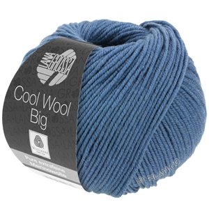 Lana Grossa COOL WOOL Big  Uni/Melange | 0968-pigeon blue