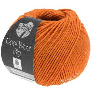 Lana Grossa COOL WOOL Big  Uni/Melange | 0970-red orange
