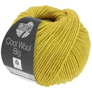 Lana Grossa COOL WOOL Big  Uni/Melange | 0973-mustard
