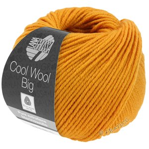 Lana Grossa COOL WOOL Big  Uni/Melange | 0974-yellow orange
