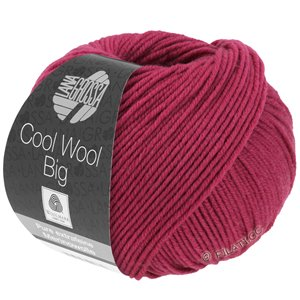Lana Grossa COOL WOOL Big  Uni/Melange | 0976-cardinal red