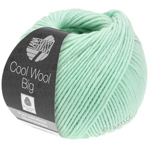 Lana Grossa COOL WOOL Big  Uni/Melange | 0978-pastel green