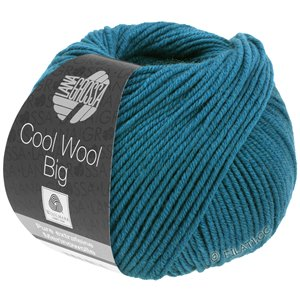 Lana Grossa COOL WOOL Big  Uni/Melange | 0979-dark petrol