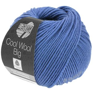 Lana Grossa COOL WOOL Big  Uni/Melange | 0980-violet blue