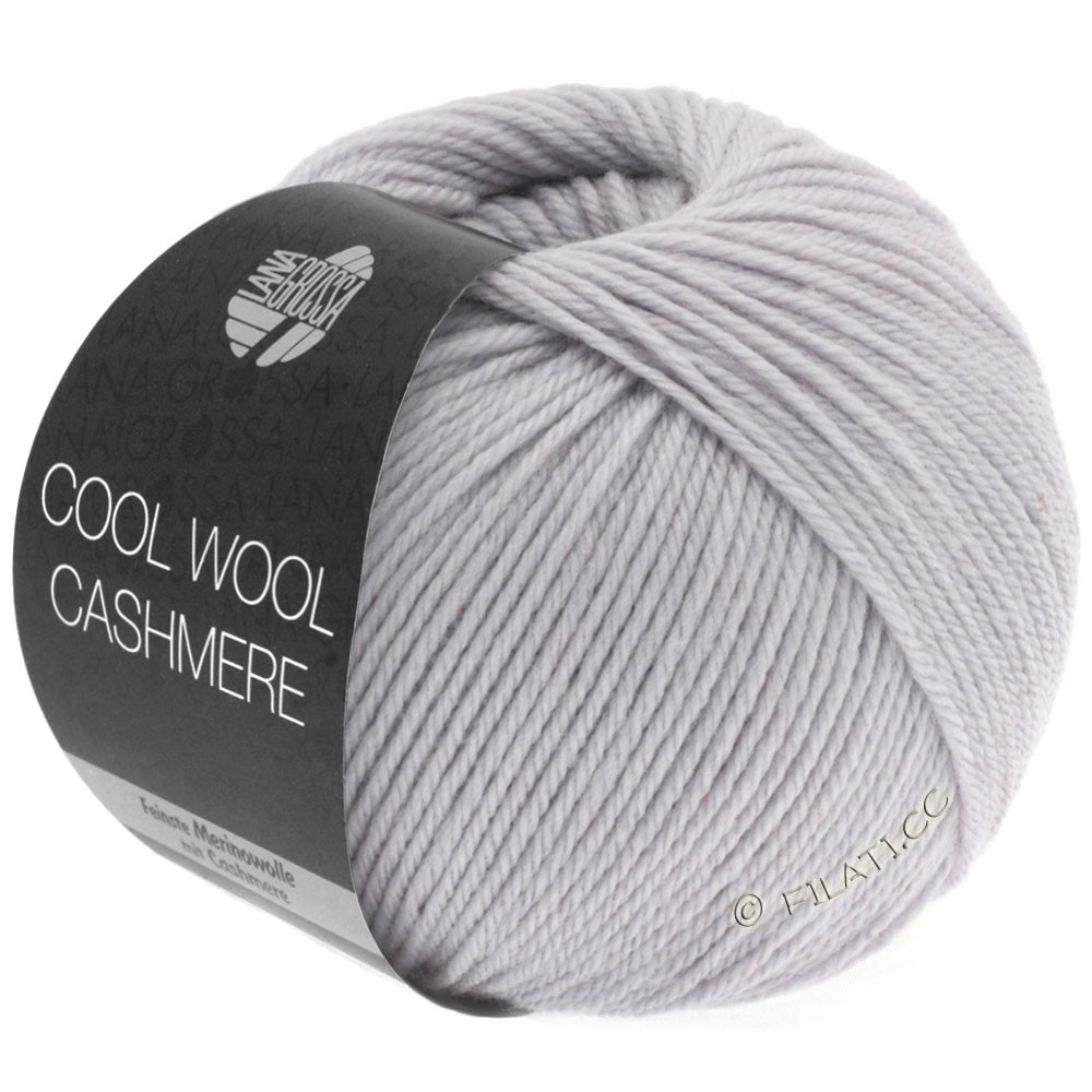 Lana Grossa COOL WOOL Cashmere | 01-pale lilac