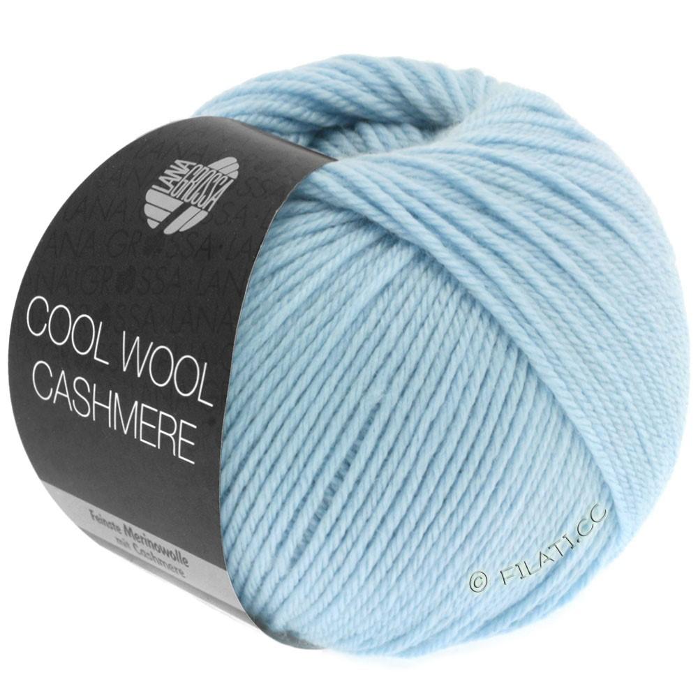 Lana Grossa COOL WOOL Cashmere | 08-light blue