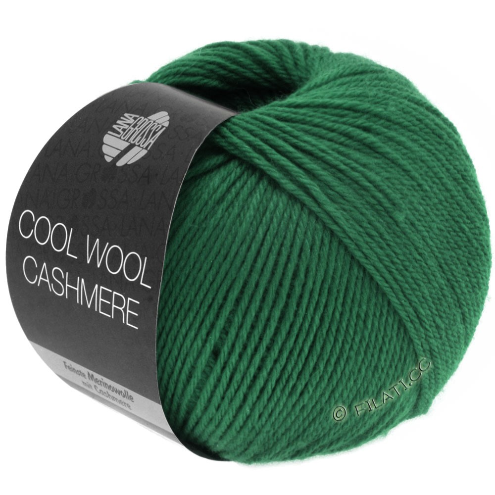 Lana Grossa COOL WOOL Cashmere | 10-dark green
