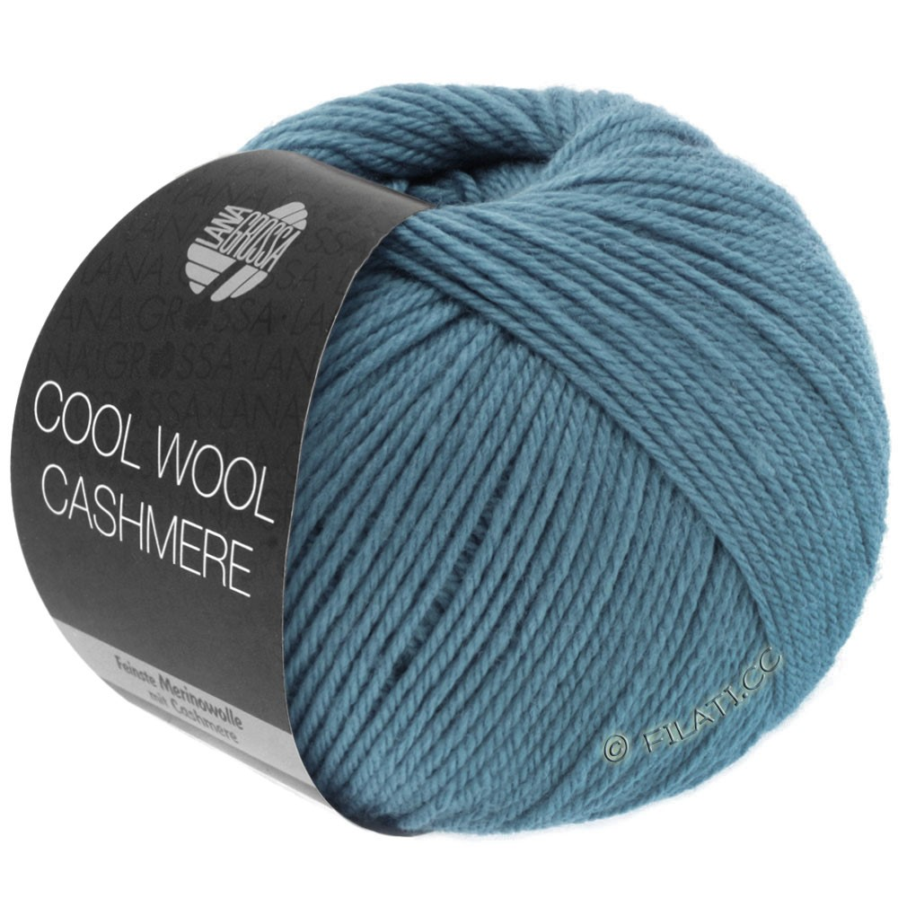 Lana Grossa COOL WOOL Cashmere | 11-gray blue