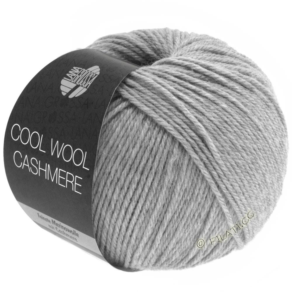 Lana Grossa COOL WOOL Cashmere | 13-light gray mottled
