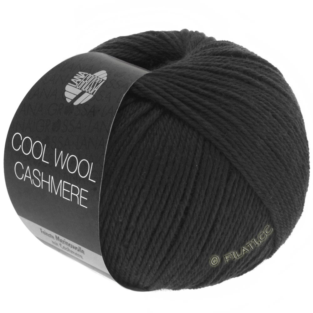 Lana Grossa COOL WOOL Cashmere | 15-black