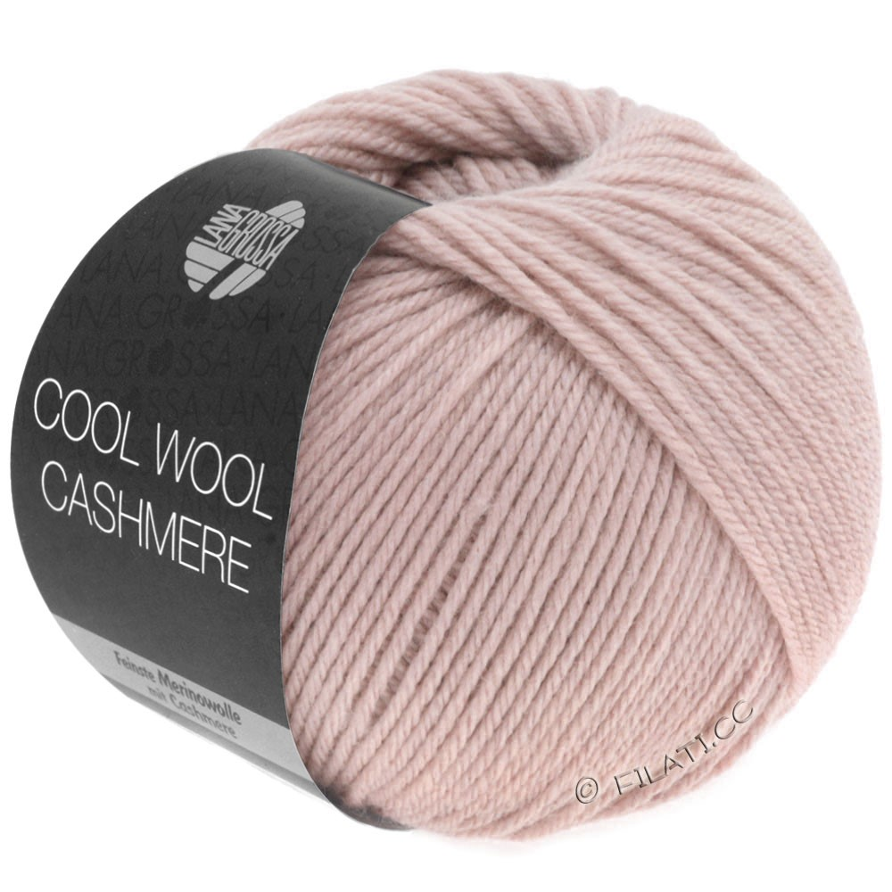 Lana Grossa COOL WOOL Cashmere | 17-frosted pink