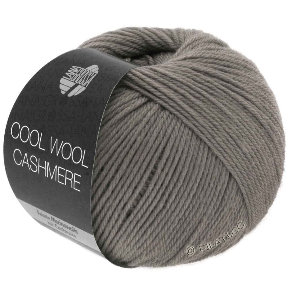 Lana Grossa COOL WOOL Cashmere | 19-gray brown