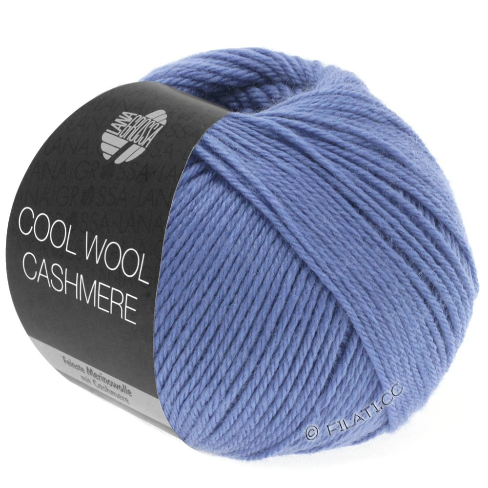 Lana Grossa COOL WOOL Cashmere | 24-violet blue