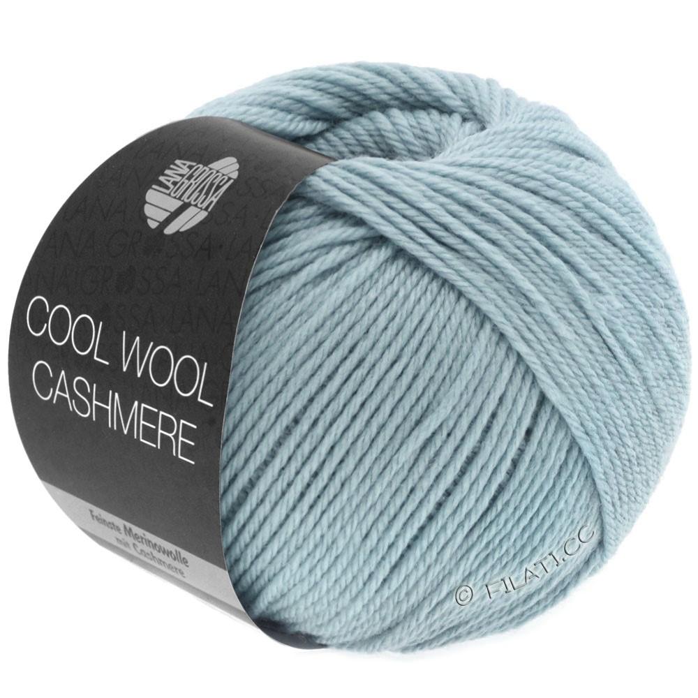 Lana Grossa COOL WOOL Cashmere | 25-gray blue