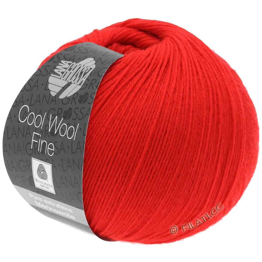Lana Grossa COOL WOOL Fine | 09-red