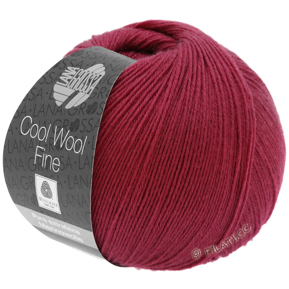 Lana Grossa COOL WOOL Fine | 10-wine red