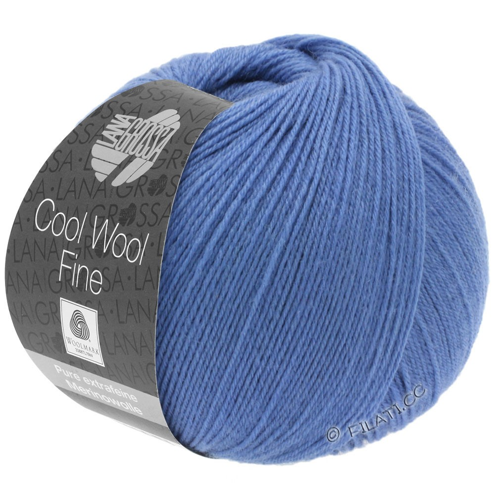 Lana Grossa COOL WOOL Fine | 14-violet blue