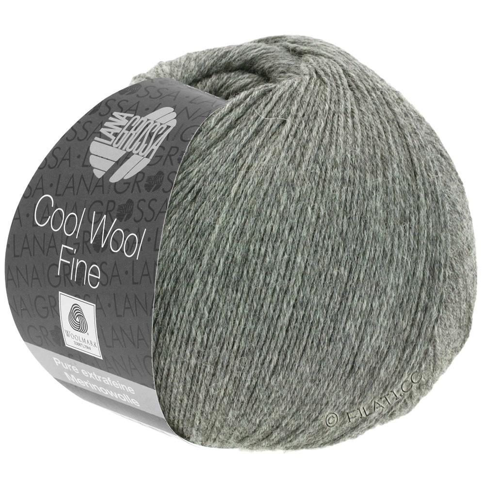 Lana Grossa COOL WOOL Fine | 18-dark gray mottled