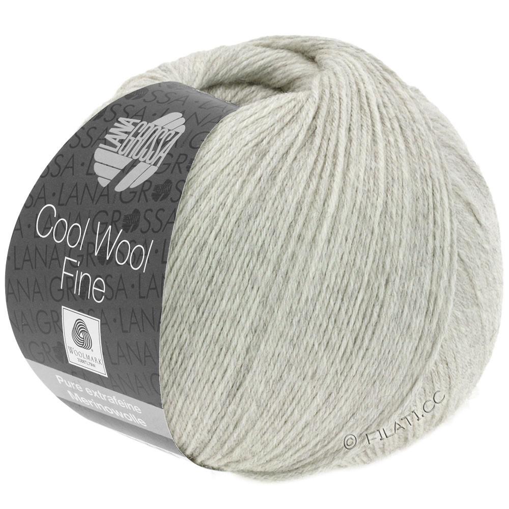 Lana Grossa COOL WOOL Fine | 19-light gray mottled