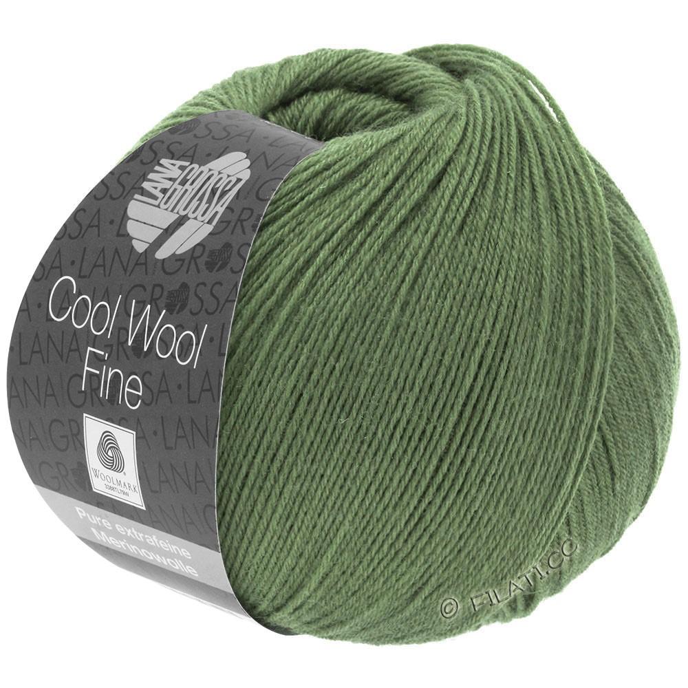 Lana Grossa COOL WOOL Fine | 24-moss green