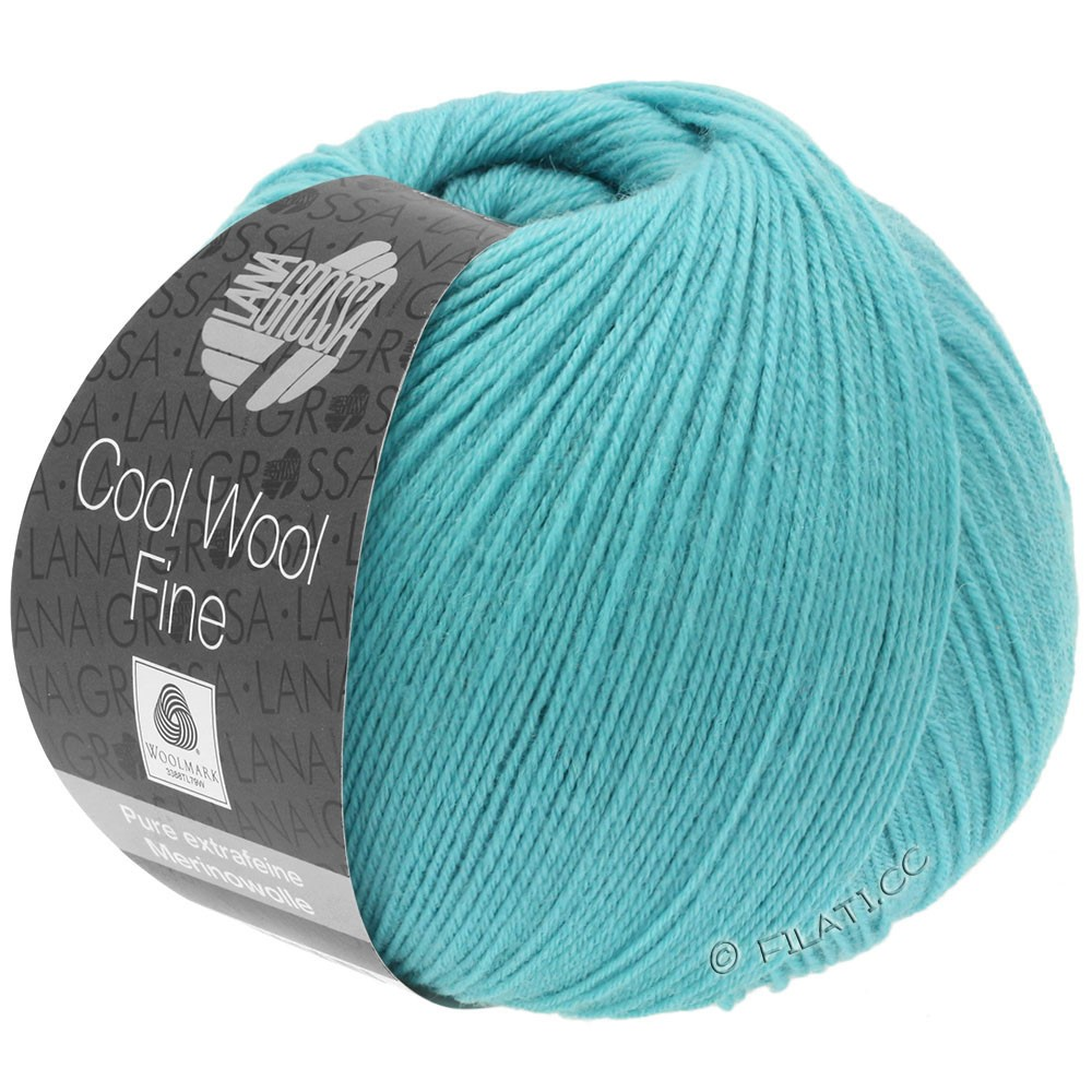 Lana Grossa COOL WOOL Fine | 28-turquoise