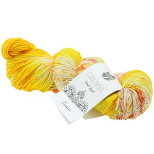 Lana Grossa COOL WOOL  Hand-dyed | 108-yellow/cream/fuchsia/olive